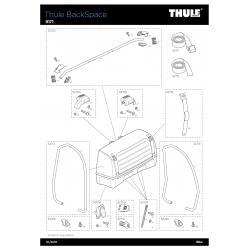 Pièces détachées - Thule Backspace 9171