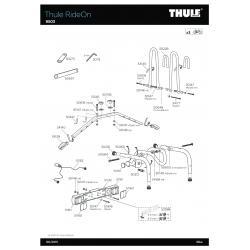 Pièce détachée - RideOn 9503 - 9502 Thule