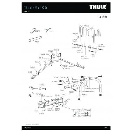 Pièce détachée - RideOn 9503 Thule