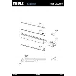 Pièces détachées - Thule SlideBar