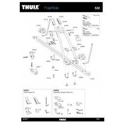 Pièces détachées - Thule Freeride 932
