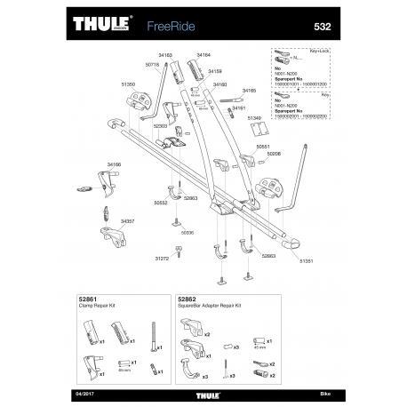 Porte-vélos - Thule Freeride 932