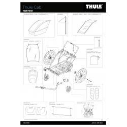 Pièces détachées - Remorque Thule Cab
