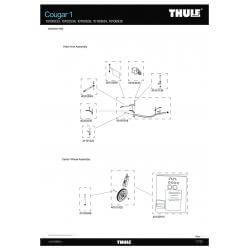 Pièces détachées - Remorque Thule Cougar