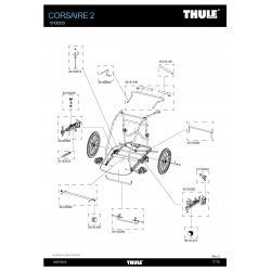 Pièces détachées - Remorque Thule Corsaire