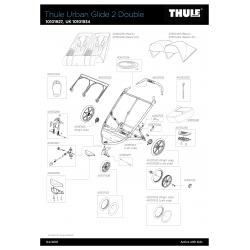 Pièces détachées pour Thule Urban Glide Double