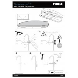 Pièces détachées Coffre Thule motion XT