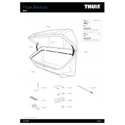 Pièces détachées Thule EsyBase