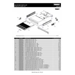 Pièces détachées Marche-pied - Thule Slide-Out Step V18 12V - 400