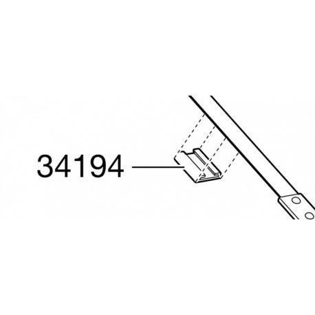 Pièce détachée Thule ClipOn 9103/9104 - plaque caoutchouc