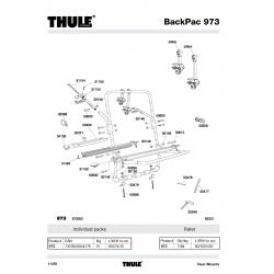 Pièce détachée - BacPack 973 Thule