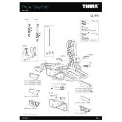 Pièce détachée - EasyFold 931-932 Thule