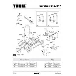 Pièces détachées - Euroway 945-947 Thule