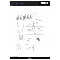 Pièce détachée Thule HangOn 972 - 974