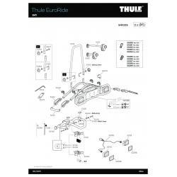 Pièces détachées - Euroride 940 - 941- 943 Thule